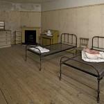Maidservants' quarters at Brodsworth Hall, Norfolk. 1859 A.D.