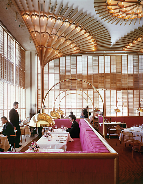 Warren Platner Restaurant Interior