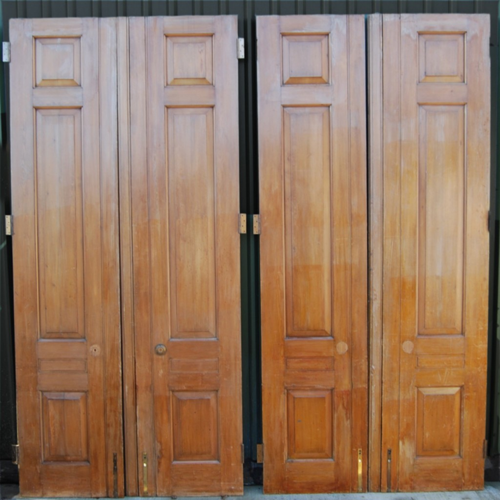 Very Large Pine Entrance Doors