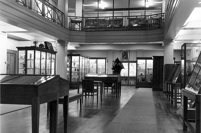 The Post War Hunterian Museum