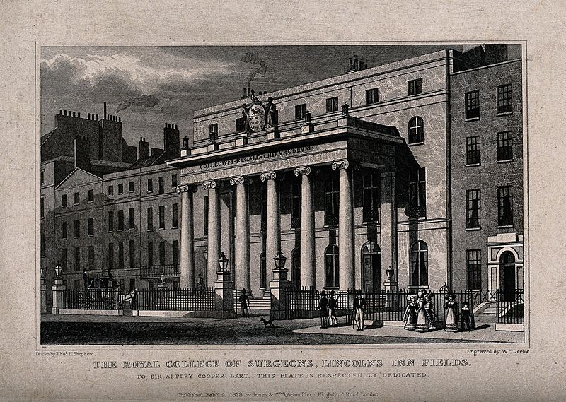 Royal College Of Surgeons 1800